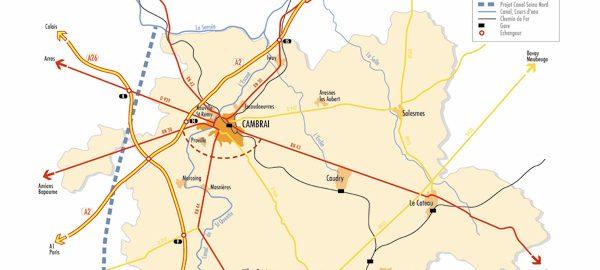 Cartographie cambresis