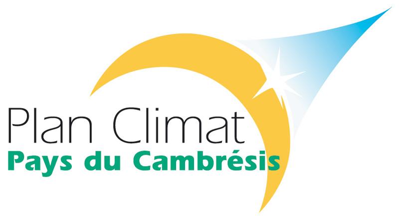 logo plan climat pays du cambrésis