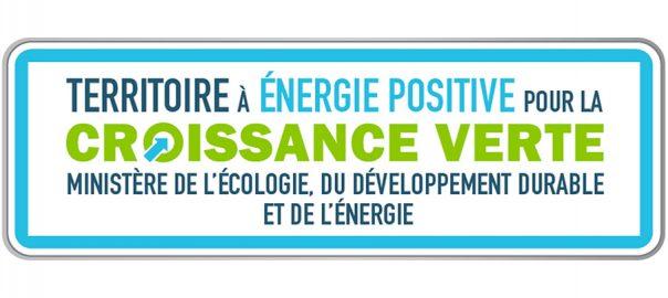 logo territoire à énergie positive croissance verte